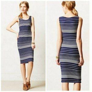 ANTHROPOLOGIE Edisto Column Dress Stripe {MM20}